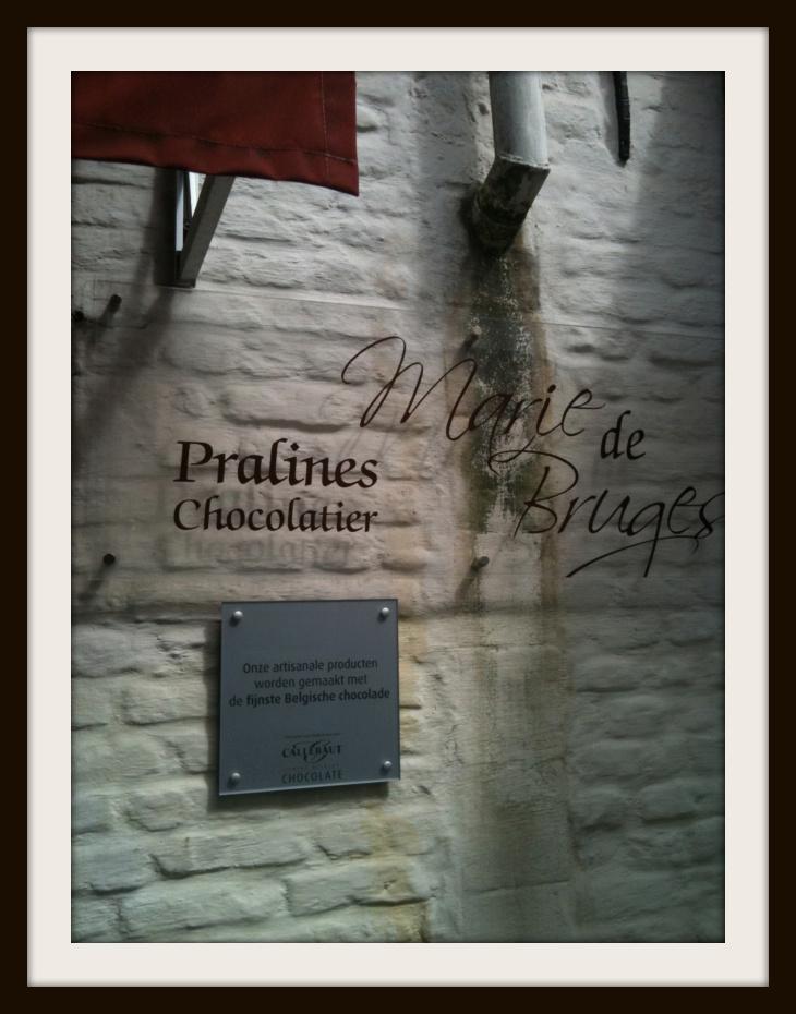 chocolate shop signage