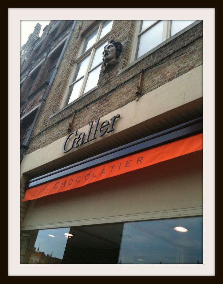 chocolate shop Brugge
