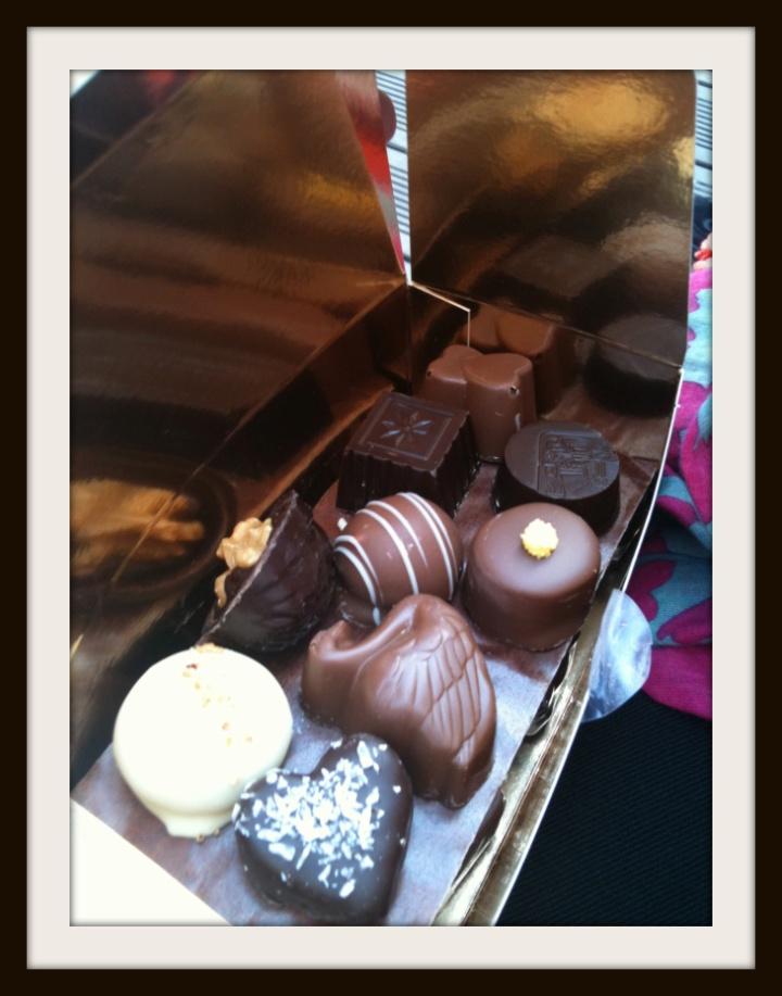 chocolates in Brugge