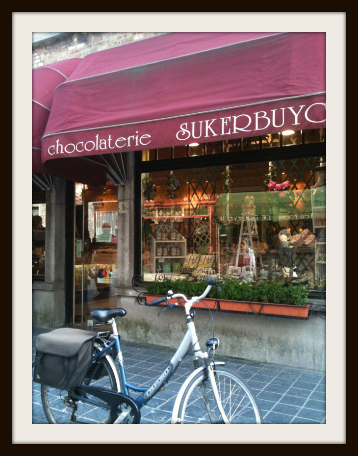 one of the oldest chocolate shops in Brugge