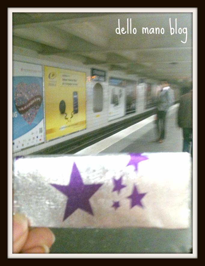 the Metro Paris