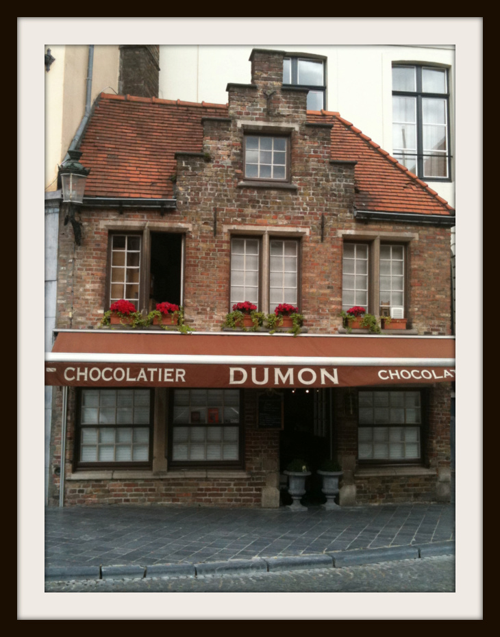 chocolate shops of Brugge