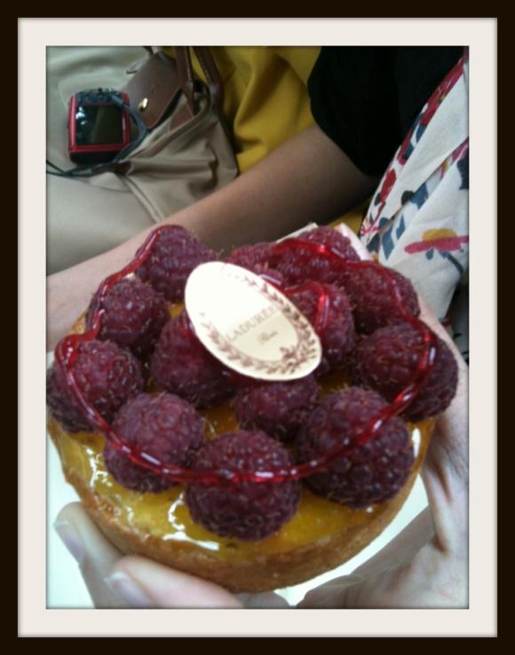 a Laduree cake