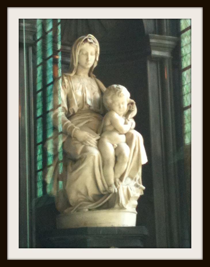 Michelangelo at Brugges