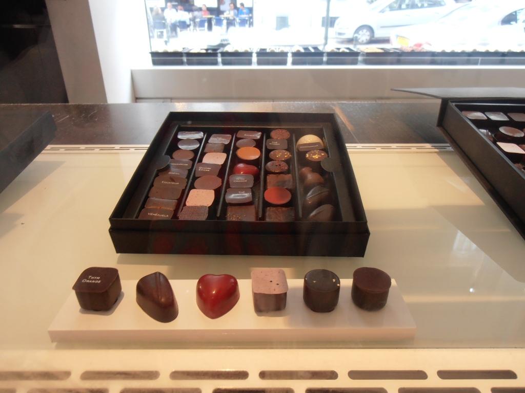 chocolate at the Sablon