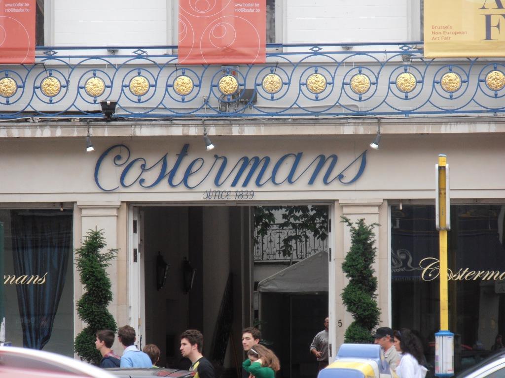 cafes of the sablon