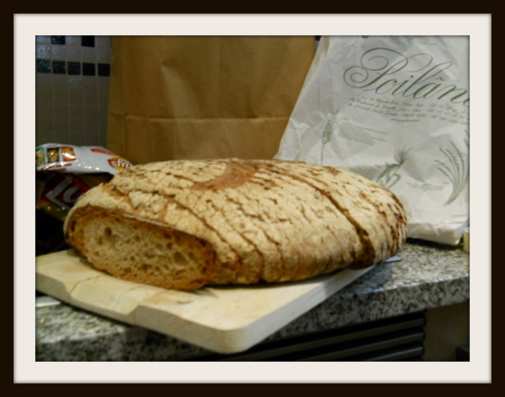 poilane bread at home and ready to eat!