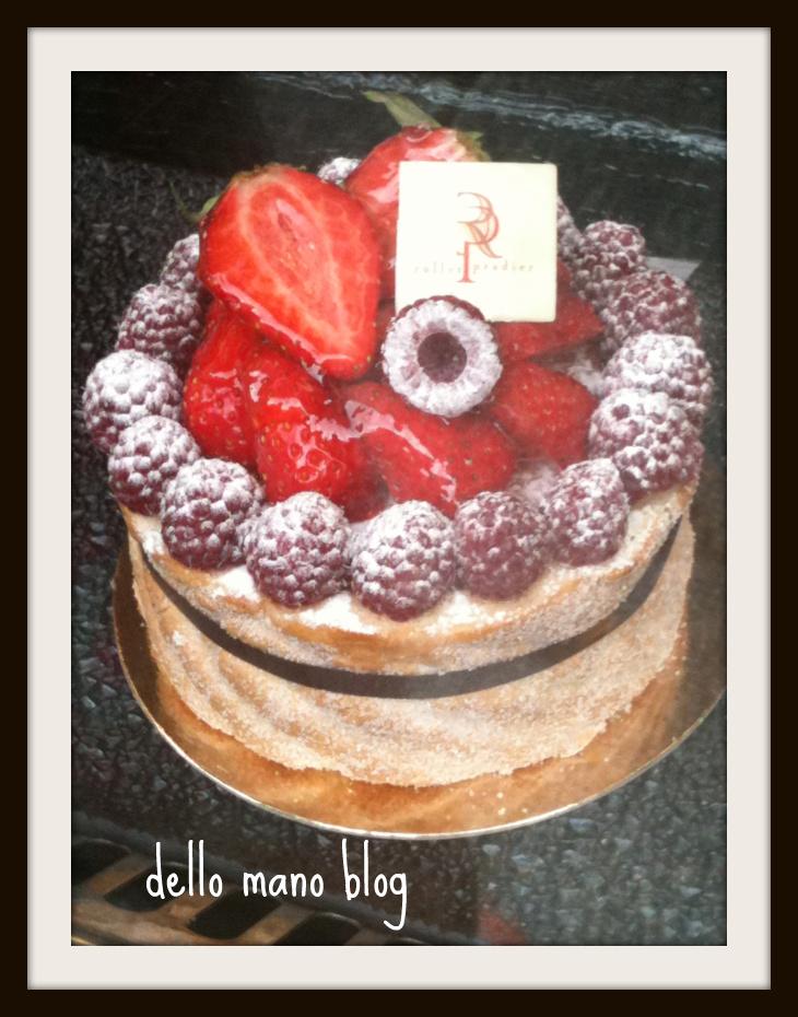 Strawberry and Cake