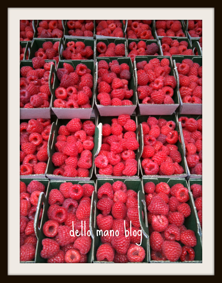 Rue Montorgueil offers fruit as well as chocolate of all types