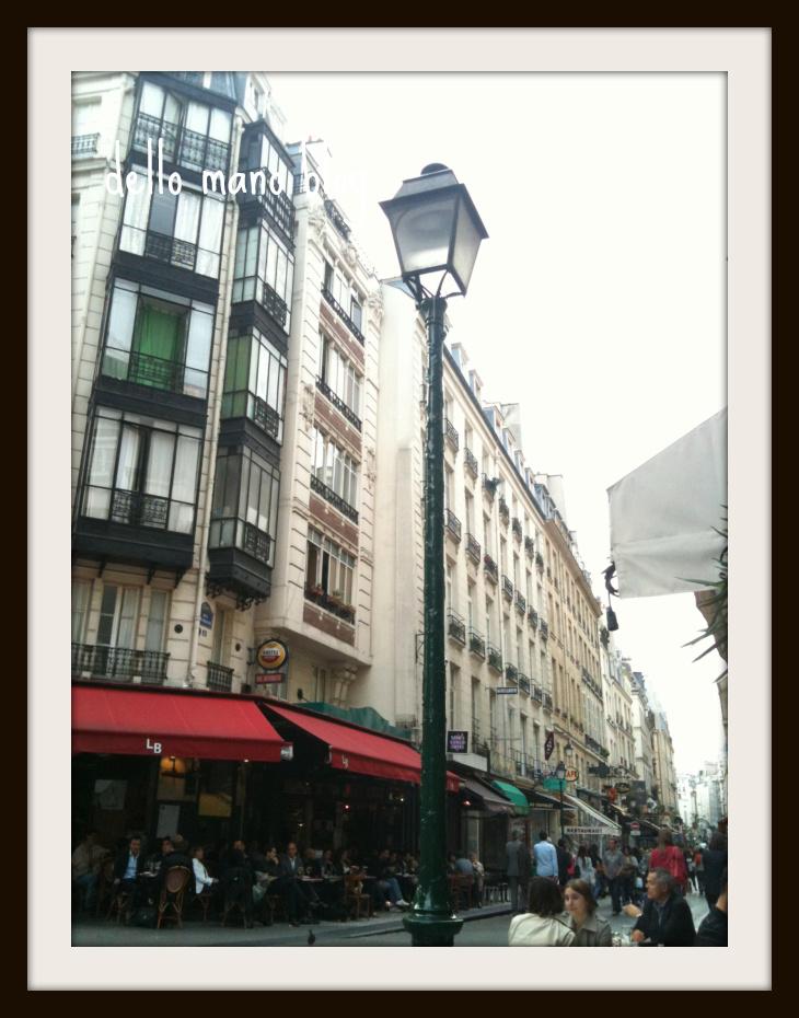 Rue Montorgueil in Paris