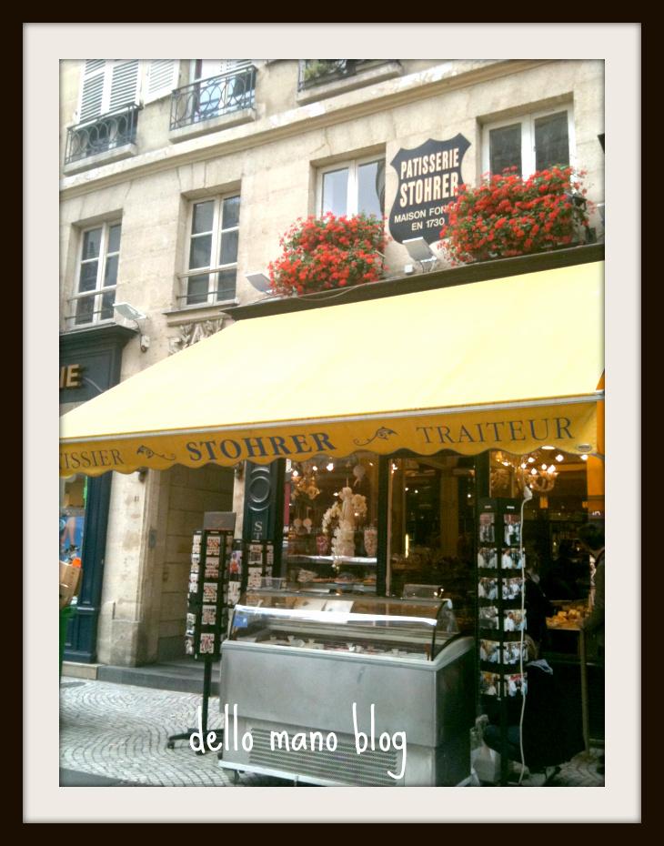 Stohrer pastry in Paris