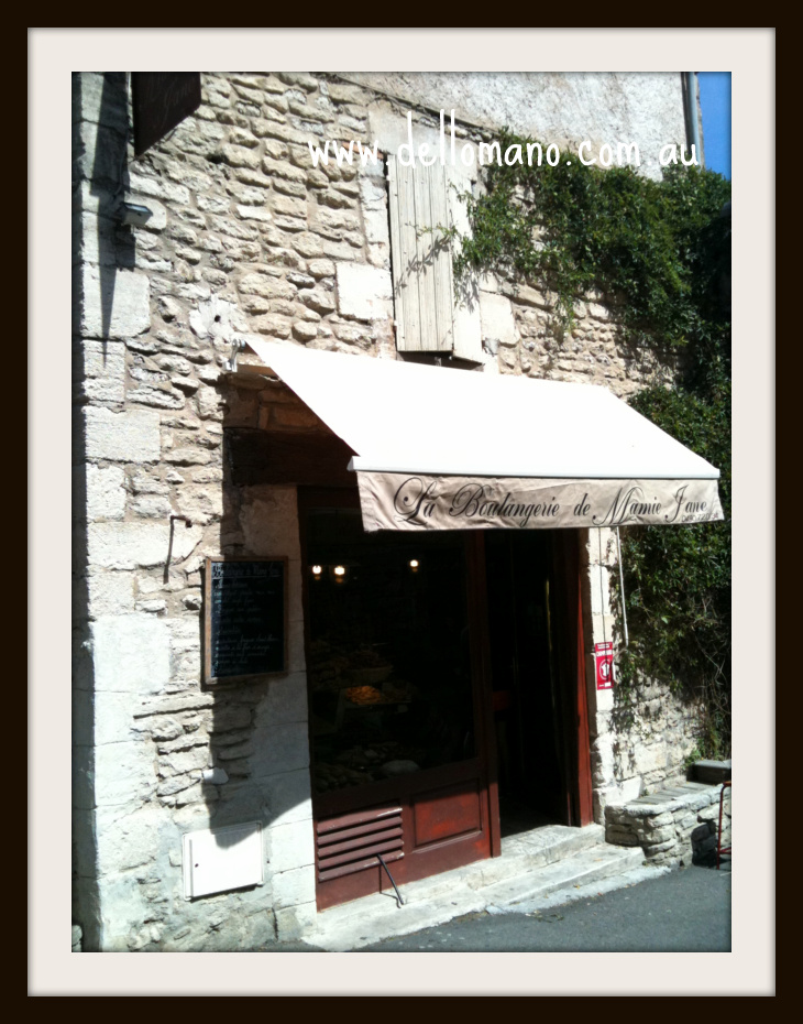 Patisserie in Gordes