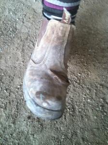 barry's foot