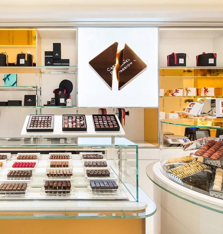 Haute Chocolaterie boutique, rue Saint-Honoré, Paris
