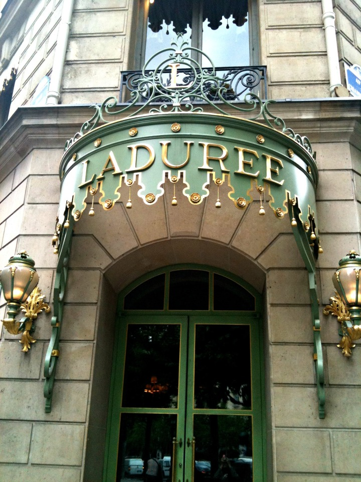 Laduree Entrace