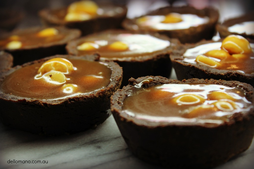 Brownie & Caramel Tarts