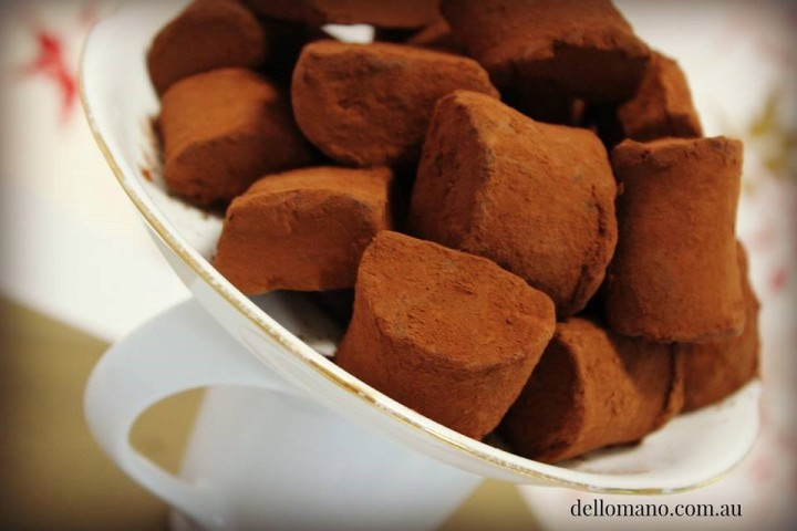 Dello Mano Belgian Chocolate Truffles