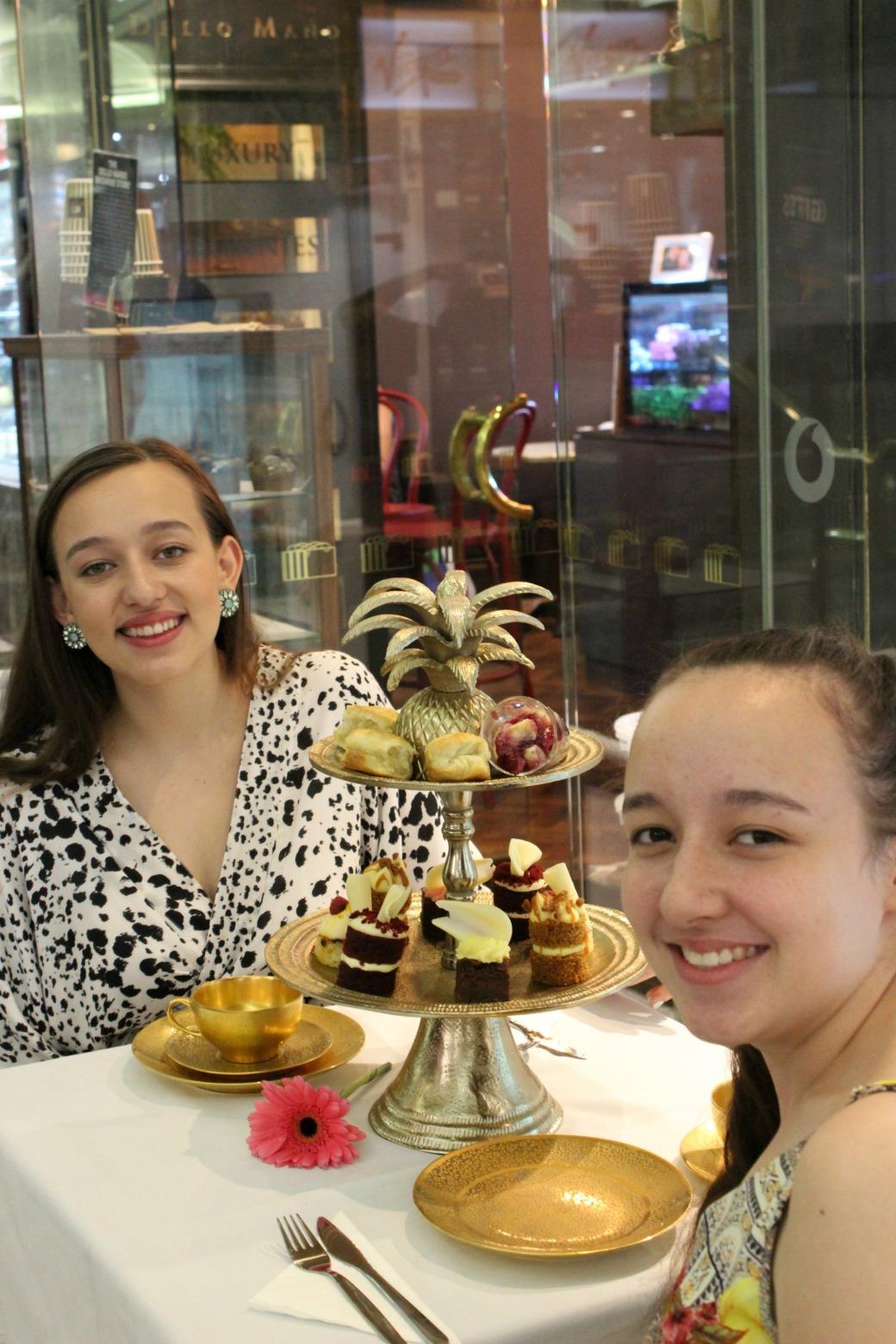 HIGH TEA BOTH GIRLS