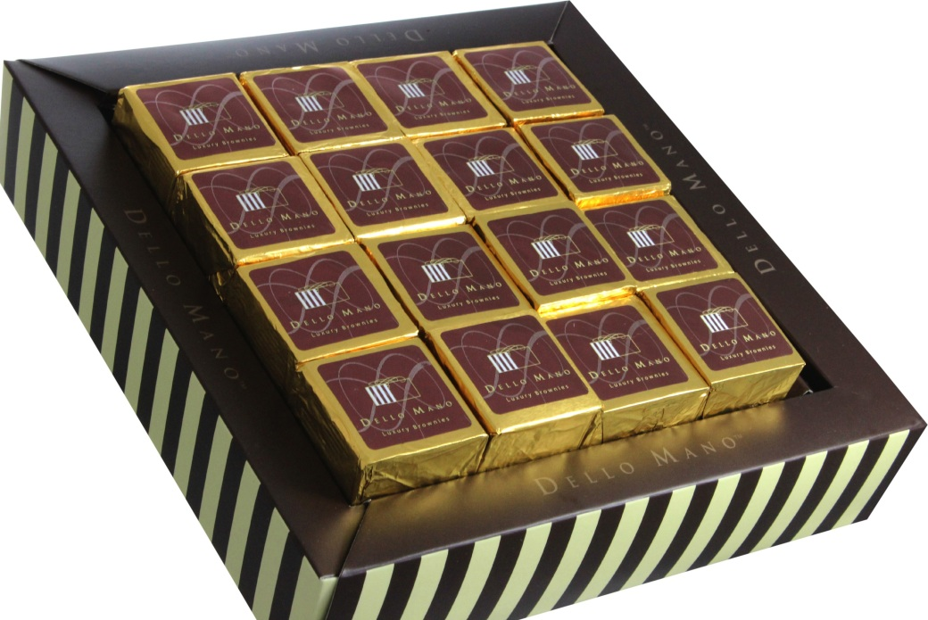 Luxury Brownies -Classic-16 piece -Gift Box